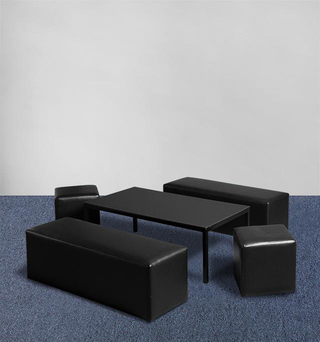 Lounge Set Mini schwarz