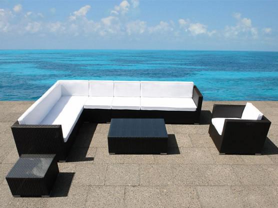 Rattan Lounge XXL