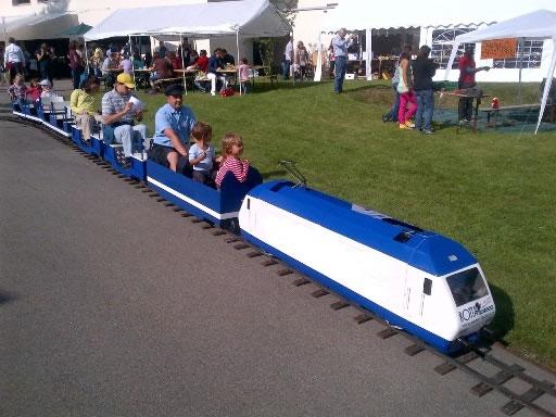 Kindereisenbahn mieten