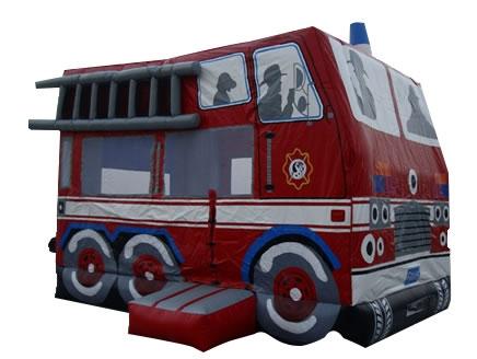 Hüpfburg mieten Feuerwehr