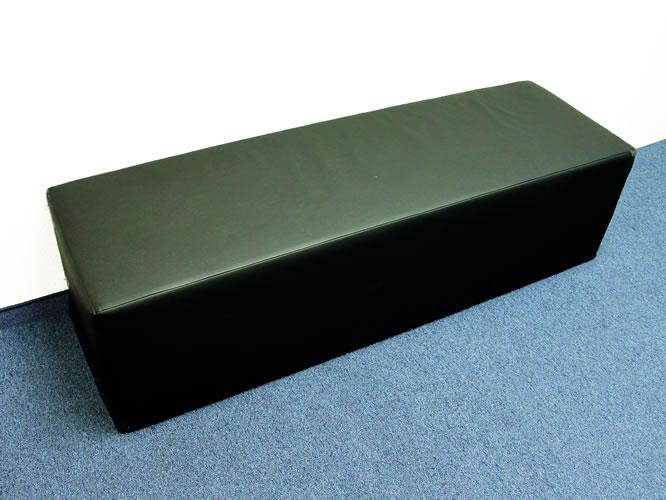 Lounge Sitzbank schwarz