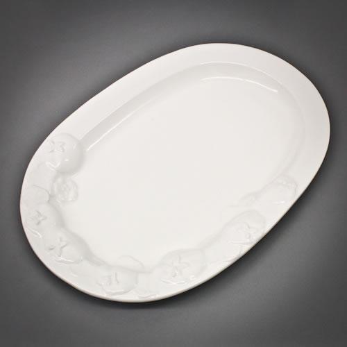 Platte Oval 40x28cm