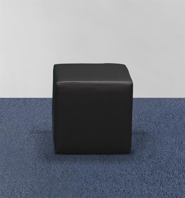 Lounge Sitzwürfel schwarz