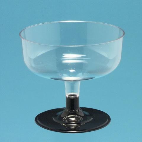 Champagner- / Dessertglas 1,8dl, 2-teilig