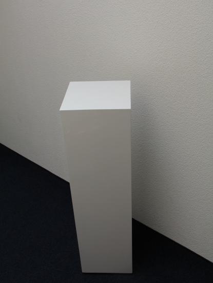 Holzsäulen Möbel hochglanz lakiert weiss - NEU