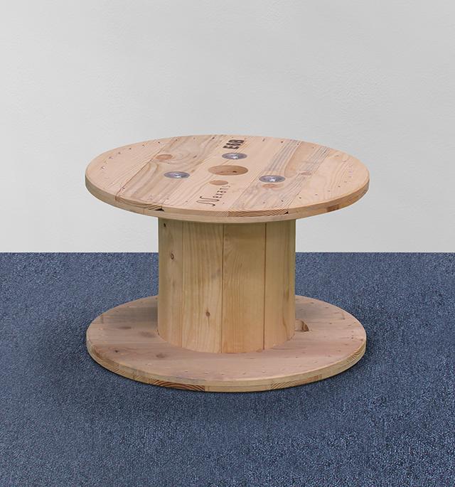 Loungetisch Rund Holz